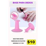 Base Para Dedos Manos Uñas