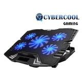 Cooler Cybercool Ha-k5 Gaming 5 Ventiladores Led Azul