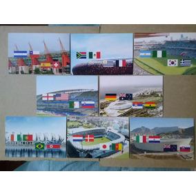 Copa Do Mundo 2010 / Africa Do Sul - 8 Cartoes Postais