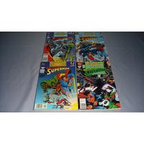 Comic Superman Mundos En Colision 4 Tomos *en Español*