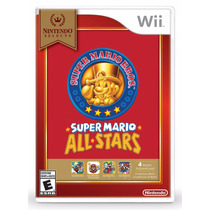 Nintendo Select: Super Mario All-stars - Wii Novo Lacrado