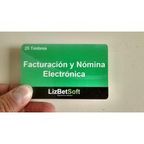 25 Folios Timbres Facturacion Y Nomina Electronica