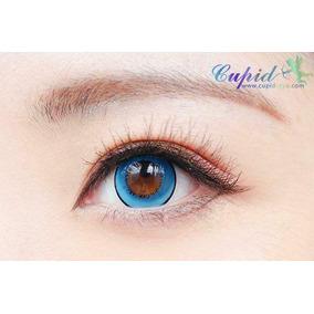 Pupilentes Azules Circle Lenses Azules Par Pupilentes