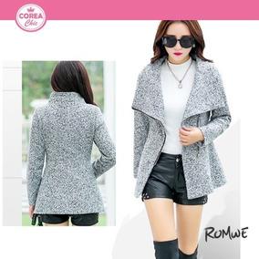 Chaqueta Casual De Lana/ Moda Coreana| Corea Chic