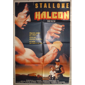 Antiguo Afiche Cine. Halcon Sylvester Stallone Ver Descrip.