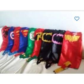 Capa Difraz Cotillón Superhéroes