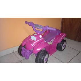 Carro Moto De Bateria Disney Princesas Con Su Cargador Bss