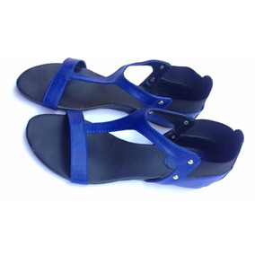 Sandalias Azules - Usadas Bien Cuidadas