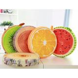 Cojín Almohada Diseño De Frutas O Trozo De Madera