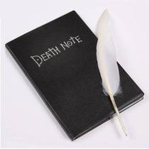 Caderno Death Note Original + Caneta Pena Queima De Estoque