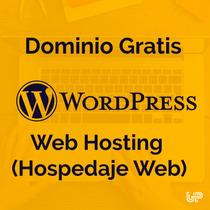 Wordpress Listo Para Usar Con Dominio + Hosting + E-mail