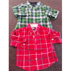 Lote De Camisas Baby Gap Y Tommy Hilfiger Originales