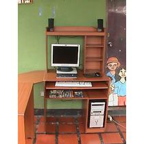 Computadora Hp + Impresora Con Sistema De Tint + Mesa + ...