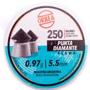 Balines Orbea 5.5mm Punta Diamante X 250 Unidades