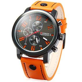 Relojes Para Hombre Curren 8192 Original Analógico Casual