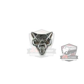 Emblema Cara Do Puma Cromado