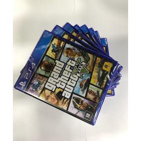 Jogo Gta 5 Grand Theft Auto V Ps4 Midia Fisica Lacrado