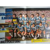 Poster Revista Goool Penta Campeonato Do Grêmio.