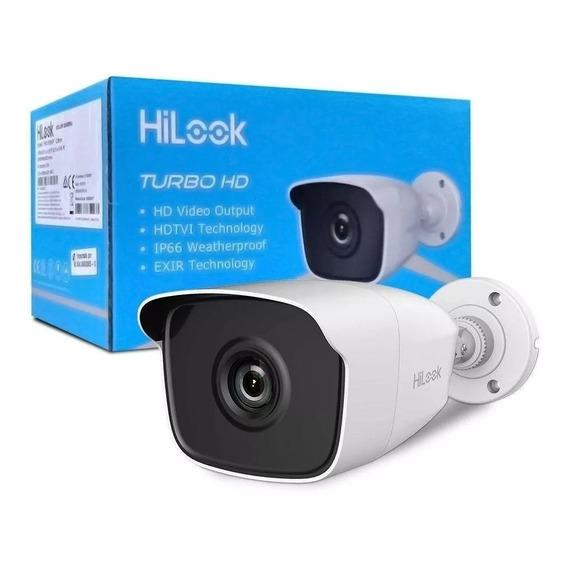Cámara Seguridad Hikvision 720p 1mp Hilook Turbo Hd Exterior