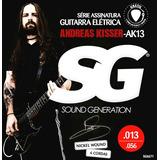 Encordoamento .sg Guitarra Andreas Kisser Ak13 6671