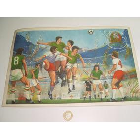 Vintage Mantel Individual Futbol Selección Mexicana