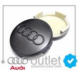 Calotinha Centro Miolo Roda Audi A3 A4 A6 60mm Sportback