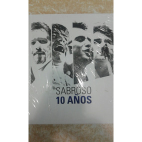 Sabroso 10 Años 3 Cd + 1 Dvd Set