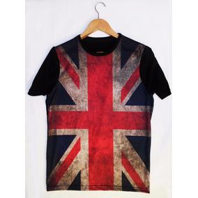 Camiseta Bandeira Inglaterra - Promoção - Top
