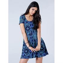 Vestido Feminino Malwee - Azul