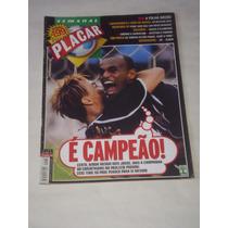 Revista Placar - Maio/2001 - Corinthians Campeão / Tite