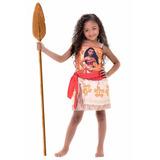 Fantasia Disney Moana Coleção Personagem Rubie M 6 A 8 Anos