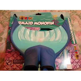 Mermaid Monofin Marca Linden (aleta Sirena)