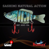 Isca Articulada Sashimi Natural Sumax Fishing 10,5cm Tucunar