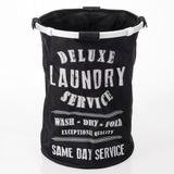 Canasto Cesto Estampado Para Ropa Sucia Moderno Laundry Chic