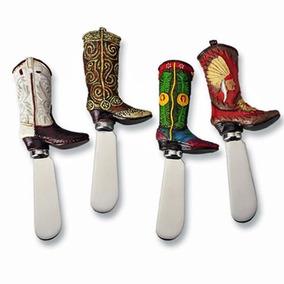 Supreme Housewares - Cuchillo De Bota Cowboy Cheese Spreade