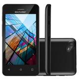 Smartphone Multilaser Ms40s Quad Core 1.2 Ghz Nb251 Preto