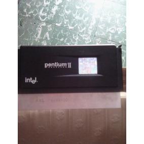 Intel Pentium Ii (2) Procesador Cpu