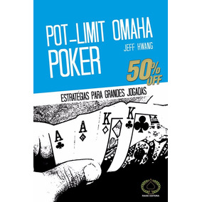 Livro Raise Editora Pot- Limit Omaha Poker Jeff Hwang Novo