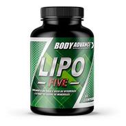 Quemador De Grasa. Lipo Five 60 Comprimidos. Body Advance