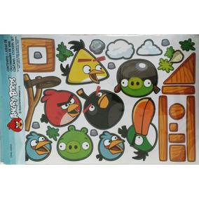 Stickers Angry Birds De Vinilo Para Habitación Ó Muebles