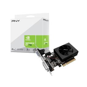 Placa Video Pny Geforce Gt 710 2gb Ddr3 Dvi Hdmi Vga Env 24h