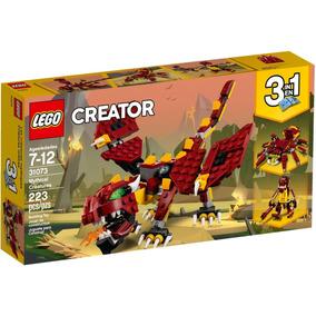 Lego Creator 31073 Dragão - Mythical Creatures 3 Em 1