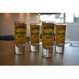Jogo 04 Copos Tequila Josue Cuervo - Kit Home Bar - Buteco