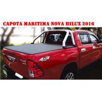 Capota Marítima Lona Original Toyota Nova Hilux 2016 2017