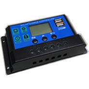 Regulador Para Panel Solar Dm 12v 24v 10a - Electroimpulso