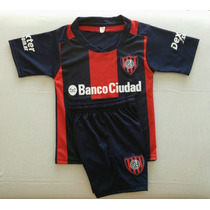 Nuevo! Conjunto San Lorenzo 2016/17 Camiseta+short Niños Env