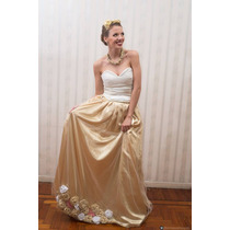 Vestido De Fiesta 15 Años Novias Largo. De Diseñador