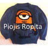 Sweater Tejido Minion Villano Favorito Precio Por Mayor Ropa