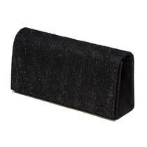 Bolsa Clutch Clássica Com Brilhos Preta - Unico
