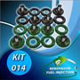 Kit 14:limpieza De 8 Inyectores Chevrolet, Dodge, Ford, Jeep